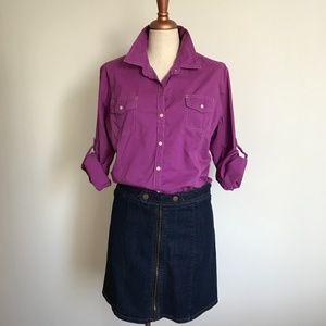 Tommy Hilfiger button down long sleeve shirt